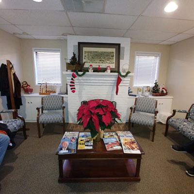 Dentist Roanoke VA Interior